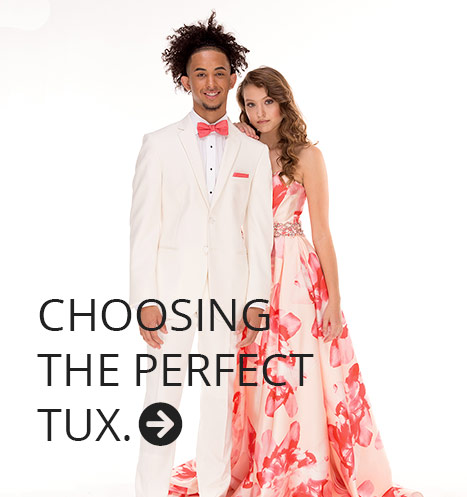 Choosing the Perfect Tux for Prom