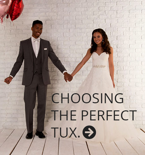 Choosing the Perfect Tux for Your Wedding