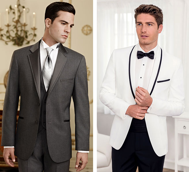 Wide variety of Tuxedo Options